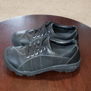 Keen Presidio Sneakers Womens 5.5 Black Leather